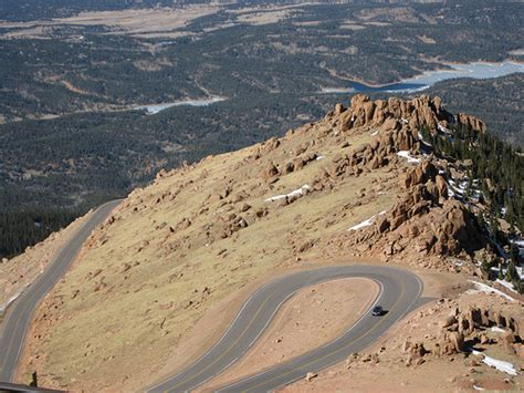 drive up pikes peak driving up to pikes peak co usa flickr photo sharing