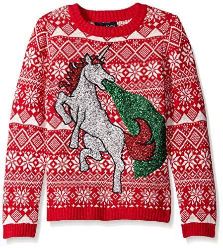 Sale 7365 Sweater Blue Unicorn boys large sweater