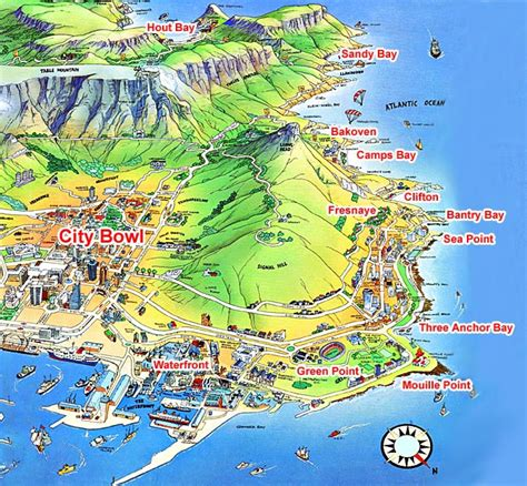 cape town south africa map south africa packages cape town garden route