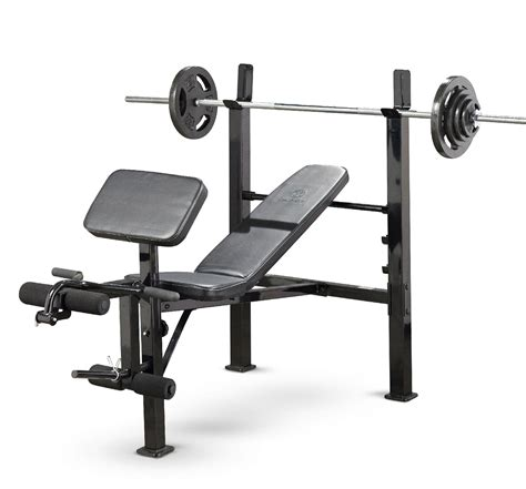 kmart bench press marcy standard deluxe weight bench fitness sports