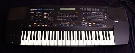 Keyboard Roland E86 Baru roland e 86 image 189403 audiofanzine
