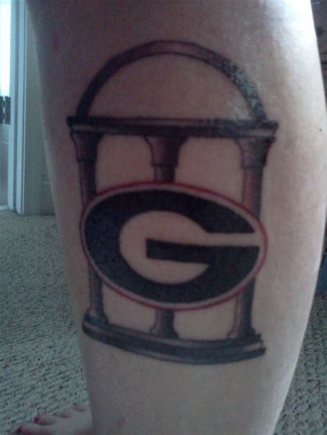 georgia bulldog tattoo designs 14 best bulldogs tattoos images on