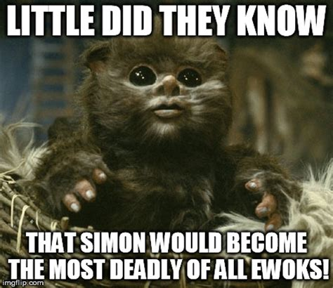 Ewok Memes - star wars ewok meme pictures to pin on pinterest pinsdaddy