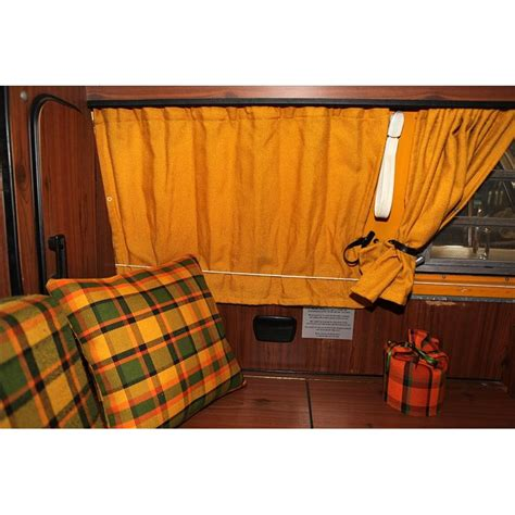 westfalia curtains type2 late bay westfalia curtain set yellow bus ok de
