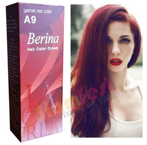 berina hair color berina permanent color hair dye garnet a9 free