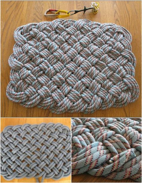 how to make a rug out of rope 30 magnificent diy rugs to brighten up your home diy crafts
