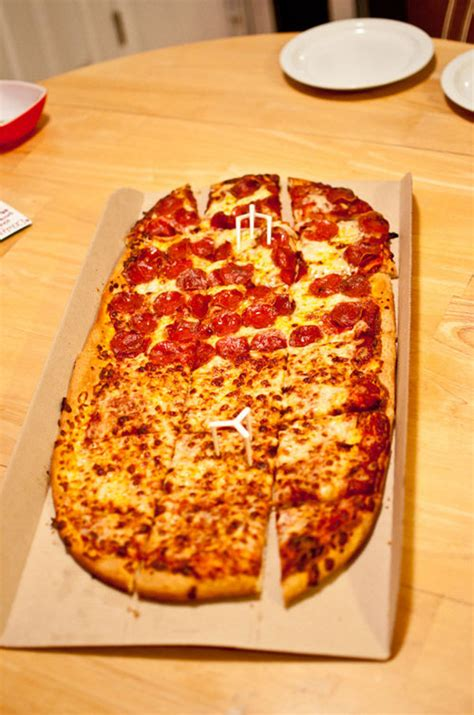 Pizza Hut Background Check Chain Reaction Pizza Hut S Big Italy Pizza Serious Eats