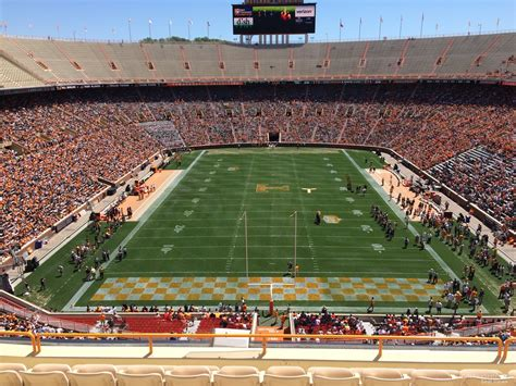 neyland stadium visitors section neyland stadium section yy8 rateyourseats com