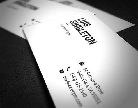 business card template psd behance avery office products business card template 8371