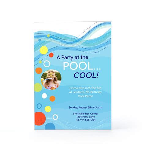 swimming pool invitations templates swimming pool invitations wording