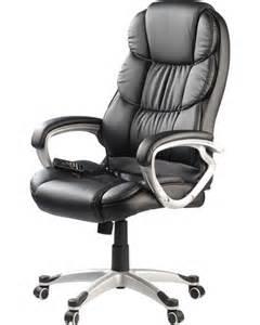 fauteuil de bureau massant avec roulettes et 8 programmes