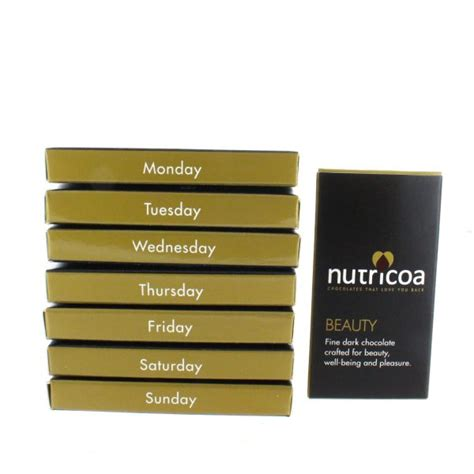 Suplemen Soloco Chocolate For Multivitamin Trial Pack skin hair and nails chocolate weekly pack nutricoa