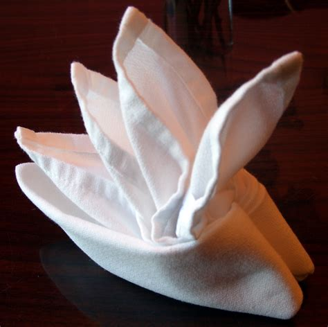 How To Fold Paper Napkins For A Dinner - folding cloth table napkins 8 steps with pictures
