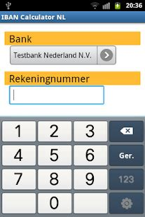 calculator iban iban calculator nl android apps on google play