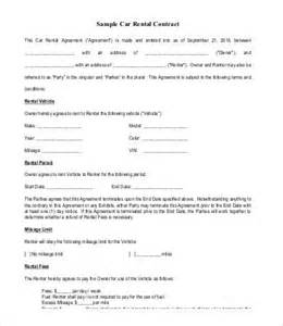 Rent To Buy Contract Template by Rent To Own Contract 4 Free Word Pdf Documents