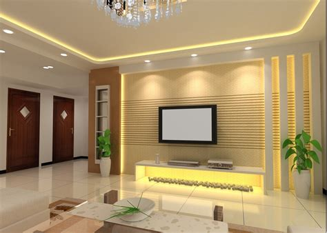living room interior design 3d house