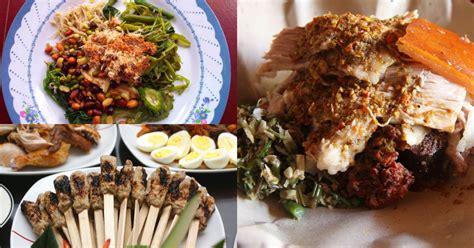 makanan khas bali lezat  dimana kamu bisa mencobanya