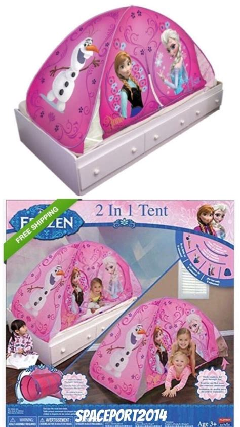 frozen bed tent frozen twin night light up bed tent playhouse playhut anna