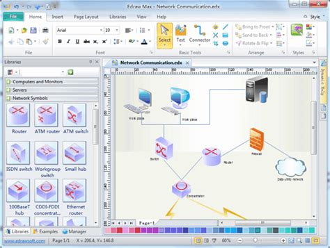 free network diagram software image gallery logical network drawing