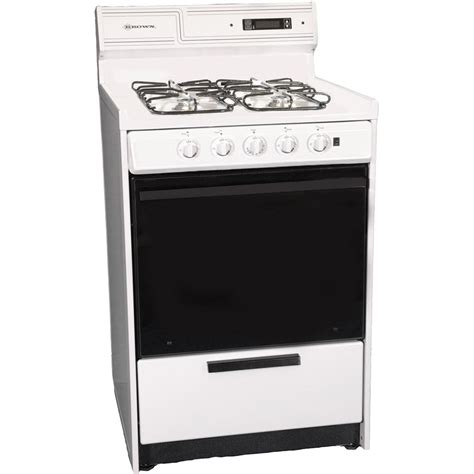 24 gas range brown wnm630 7dfk 24 quot gas range electronic ignition sealed