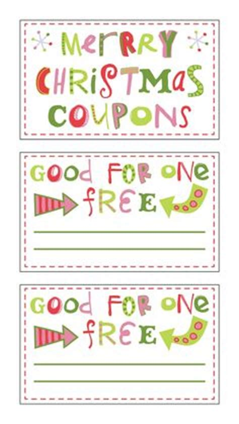 printable love coupons for christmas 1000 images about student holiday gift ideas on pinterest