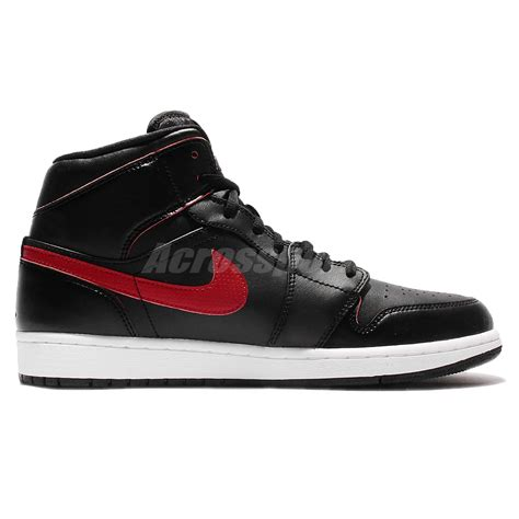 and 1 sneakers nike air 1 mid black mens basketball shoes aj1