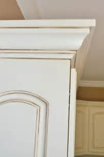 How To Glaze Painted Cabinets Kitchen Tour At Home With The Barkers