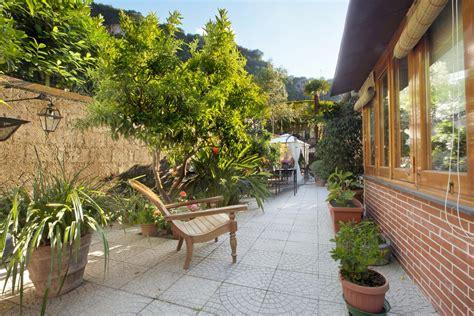 organizzare giardino piante sempre verdi e un piccolo giardino zen che regala
