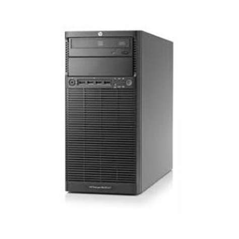 Server Hp Ml110 hp proliant ml110 g7 tower server e3 1220 2gb 1tb dvd rw raid 0 1 10 350w power supply 3