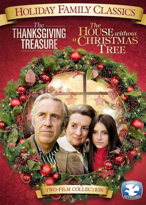 the thanksgiving house the thanksgiving treasure the house without a christmas tree brand new dvd