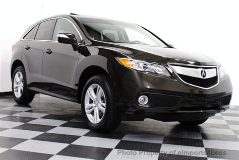 2015 used acura rdx certified rdx tech awd suv