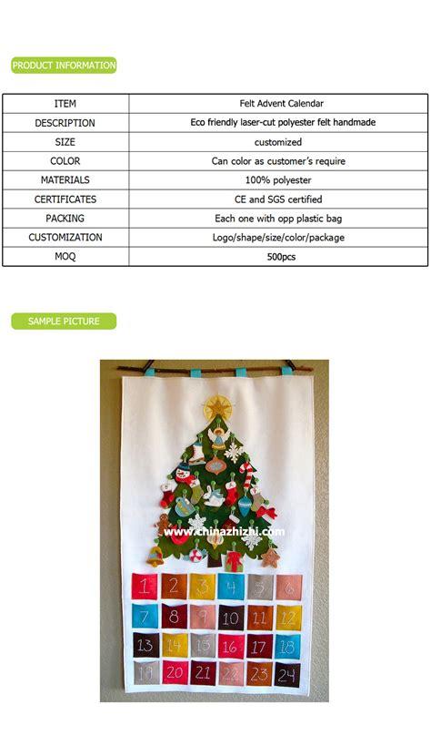 Handmade Fabric Advent Calendar - felt advent calendar handmade advent calendar
