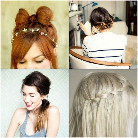easy hairstyles for school and work hairstyles and easy for school