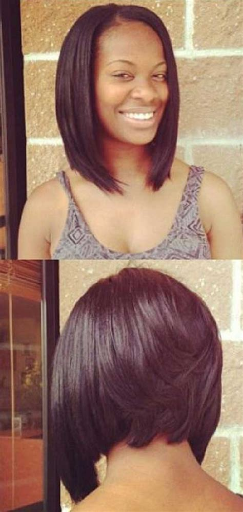 black women layers and color bobs back view for black women deirdre pinterest