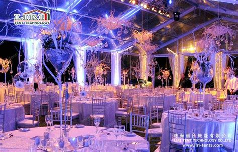 500 wedding tent with clear walls and roof for sale