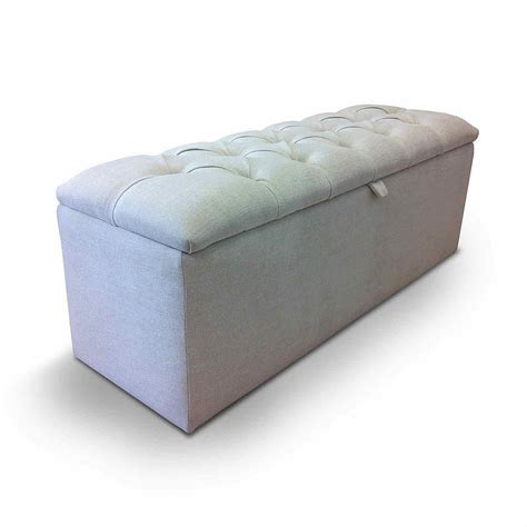 Ottoman Storage Upholstered Microfiber Shoe Storage Storage Ottomans Uk