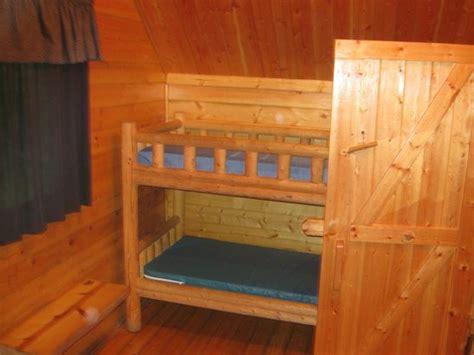 bunk beds lincoln ne 2 room cabin backroom 2nd set of bunk beds picture