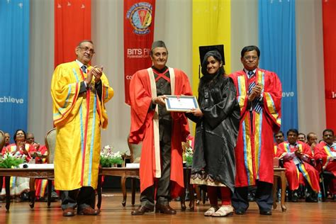 Bits Pilani Hyderabad Mba by Bits Pilani Dubai Convocation Ceremony 375 Students Were