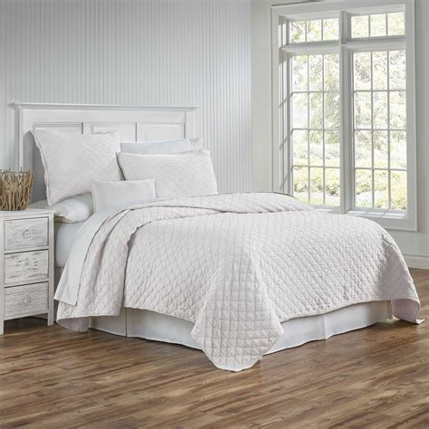 coverlet and shams traditions linens bedding louisa coverlet and sham