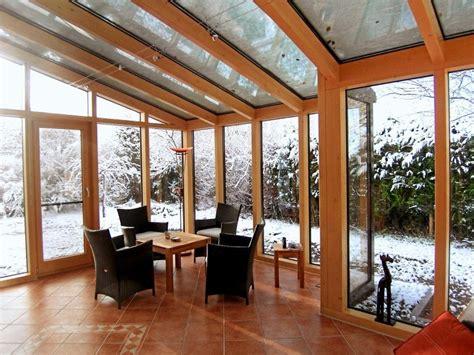 deko wintergarten wintergarten holz alu konstruktion