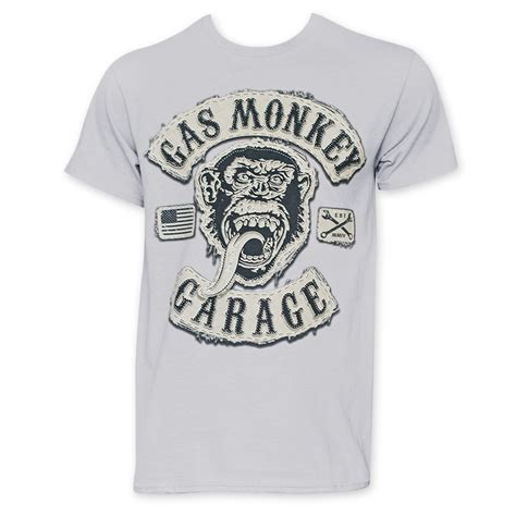 T Shirt Monkey gas monkey garage logo t shirt www pixshark images