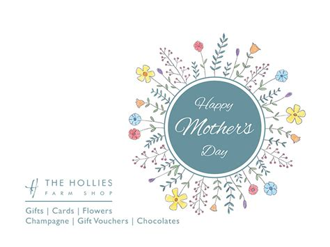 mothers day uk 2018 s day 2018 the hollies farm shop