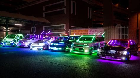 neon lade the neon led sound vans of japan