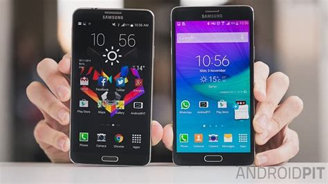 samsung galaxy note 7 vs note 4 what s the difference and should i upgrade samsung galaxy note 4 vs galaxy note 3 comparison how much better is the new flagship androidpit