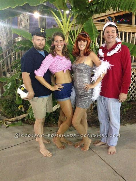 easy  sew diy gilligans island group costume