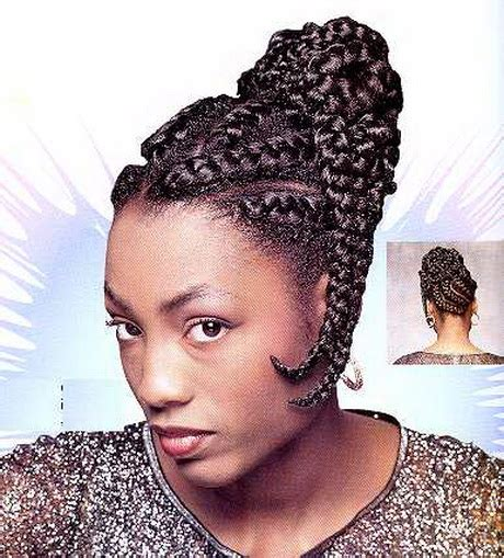 Black Hairstyles For Hair Only by Goddess Braids Updo Styles Only Newhairstylesformen2014