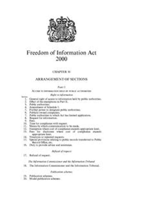 section 35 dpa freedom of information act 2000 wikipedia