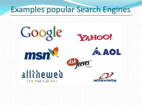 Search Engine For Seo Search Engine Optimization Introduction Powerpoint Present