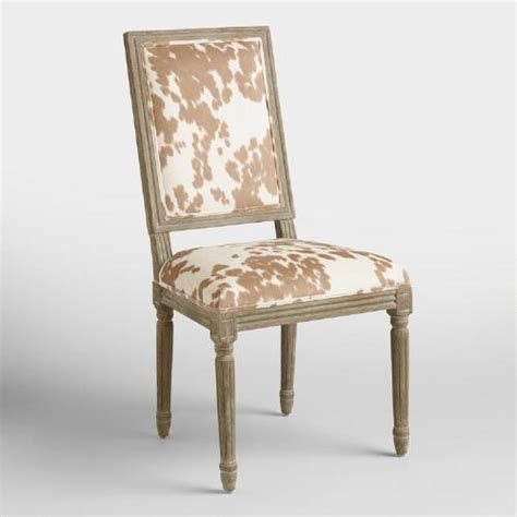 palomino square back dining chairs set of 2 world