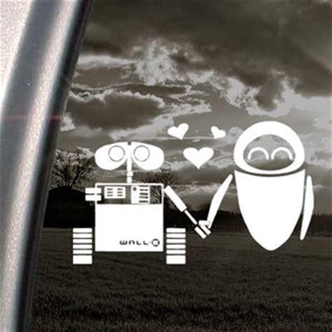 wall e stickers disney decal wall e robot window sticker co uk diy tools